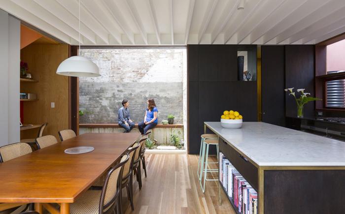Открытая планировка от студии Aileen Sage Architects