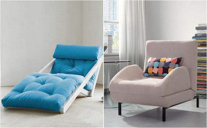 Сладкие сны в малогабаритных квартирах: новый взгляд на кресло-кровати и диваны-книжки
