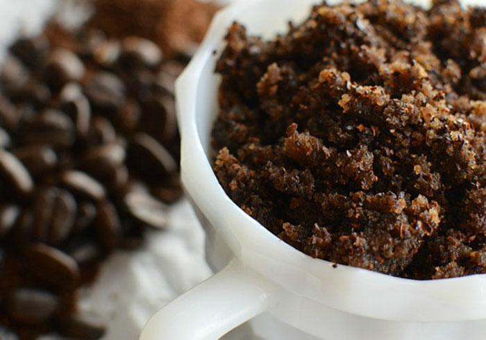 Скраб из кофе для тела