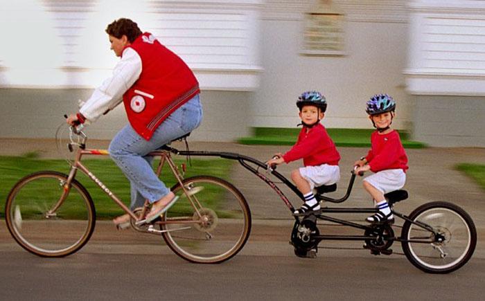 Невероятно забавные велосипеды, не вписывающиеся ни в какие рамки