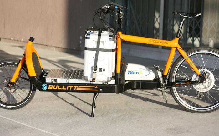 Велосипед-погрузчик