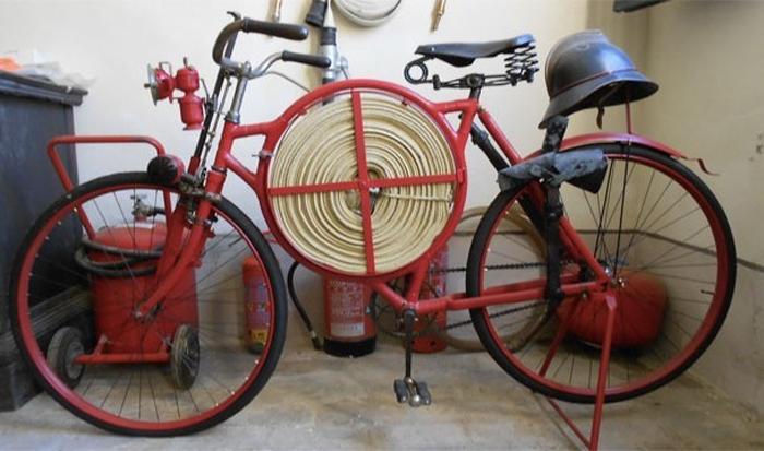 Велосипед пожарного