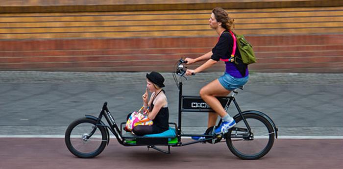 Велосипед с платформой для детей