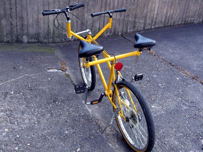 Велосипед с двойным сиденьем