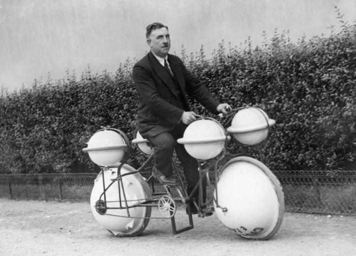 Велосипед амфибия