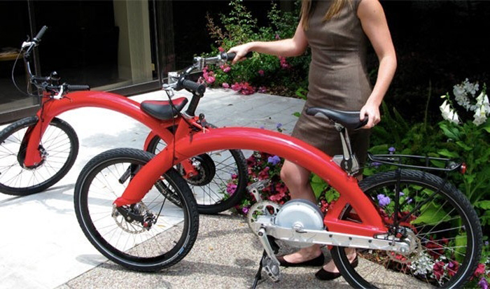 Стильный велосипед