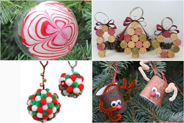 Если Новый год через час: ТОП-10 украшений для новогодней ёлки быстрого изготовления
