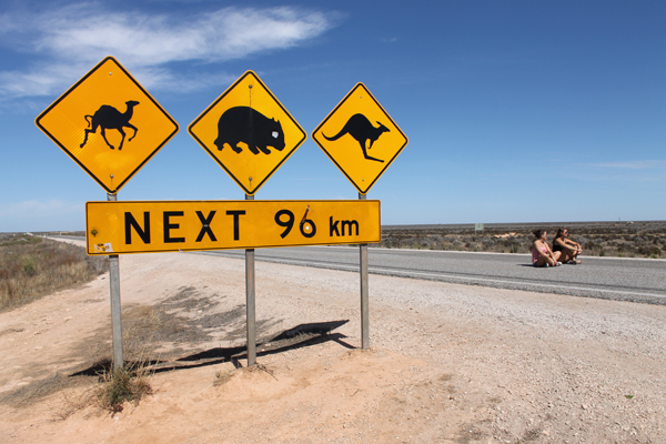 Eyre Highway, Австралия