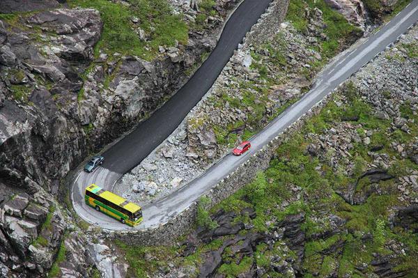 Trollstigen, Норвегия