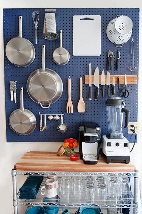 Удобная панель на кухне