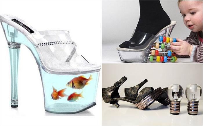 15 необычных пар обуви, в которых не каждая модница решится пройтись