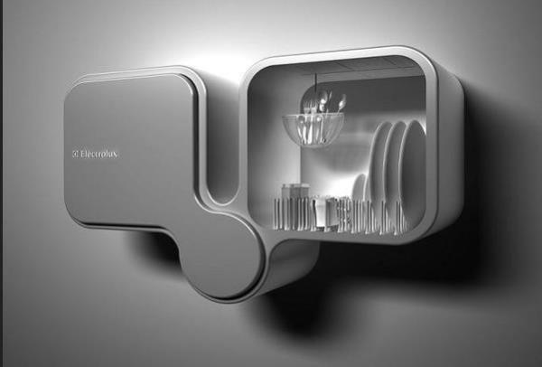 Настенная посудомоечная машина от Electrolux