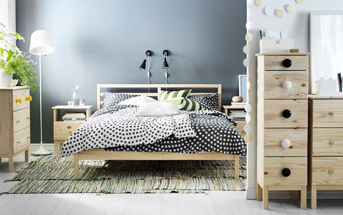 Коллекция мебели TARVA для спальни