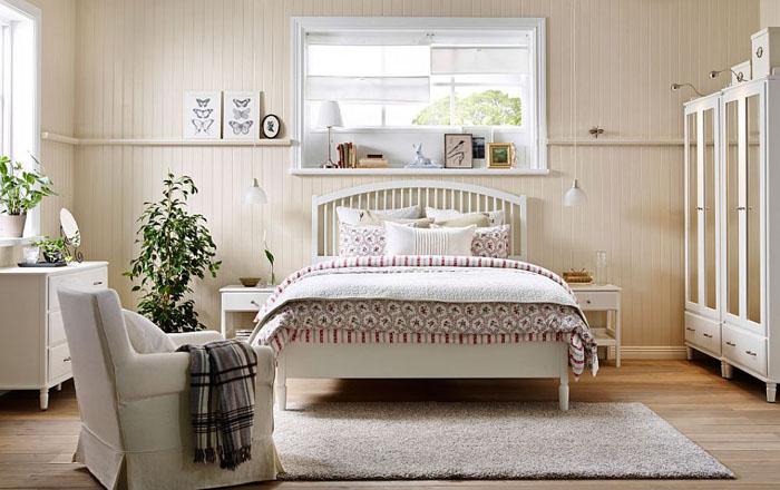 Уютная спальня от IKEA