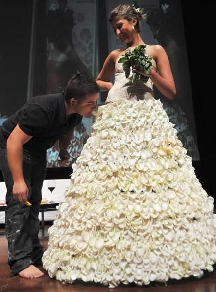 Кондитер тоже может стать дизайнером свадебных платьев