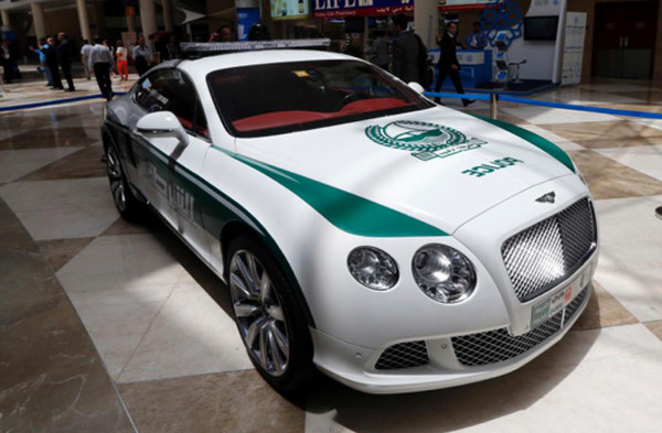 Bentley Continental GT в ОАЭ