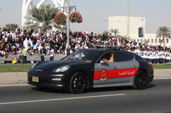 Porsche Panamera в Катаре