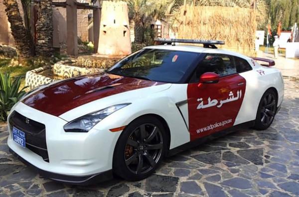 Nissan GT-R в Объединенных Арабских Эмиратах
