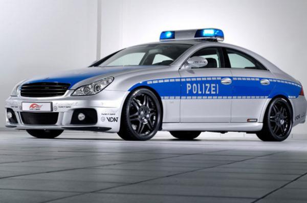 Mercedes Benz Brabus Rocket CLS в Германии
