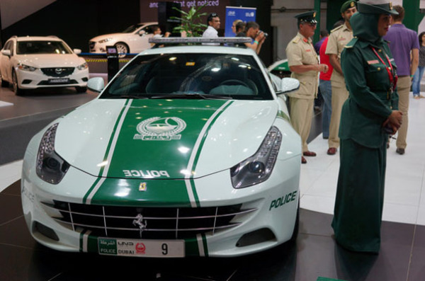 Ferrari FF в ОАЭ