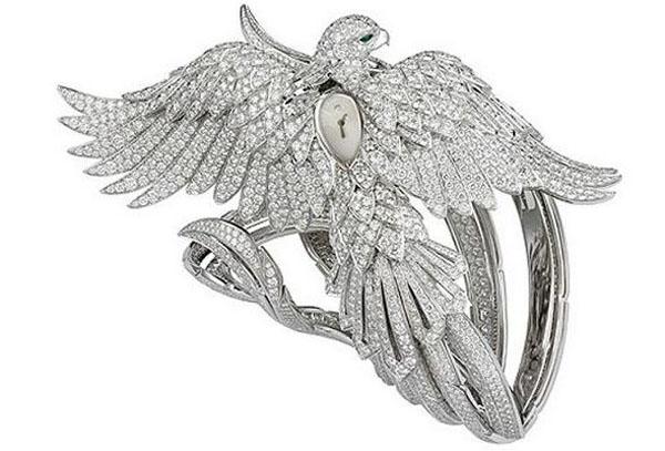 Часы с фениксом от Cartier