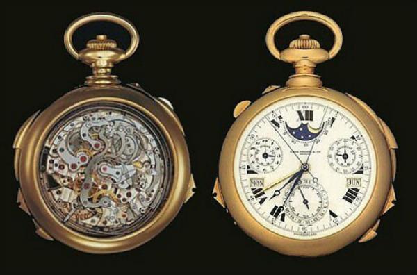 Карманные часы Henry Graves от Patek Philippe