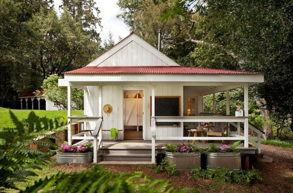 красивые деревенские дома фото