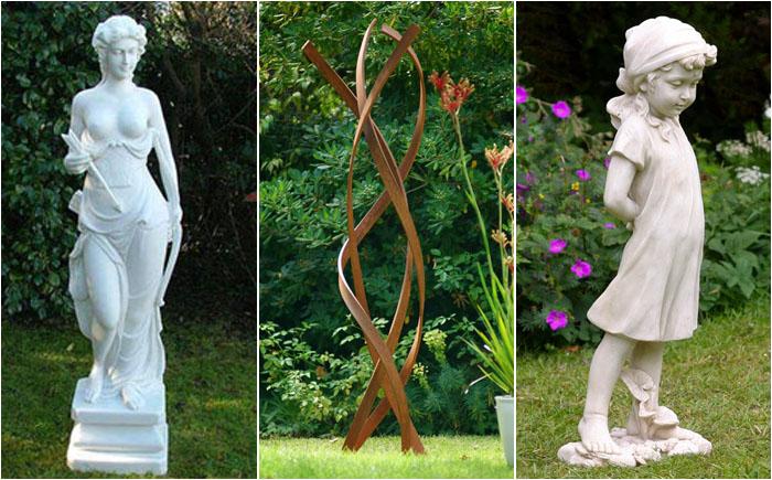 Садовая скульптура: как найти место для статуи в саду