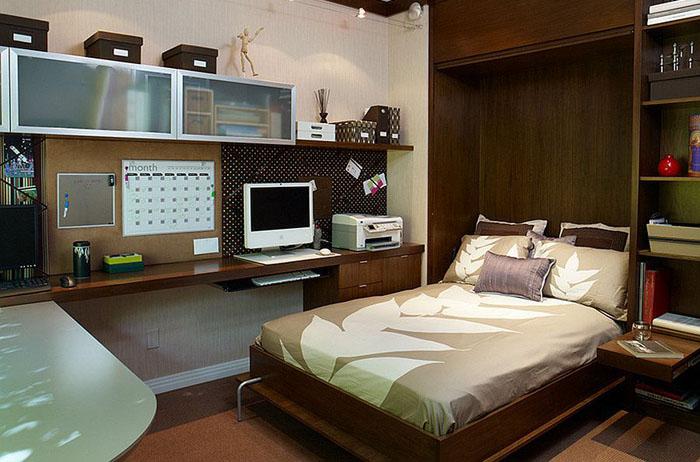 Интерьер спальни офиса от  EMI Interior Design