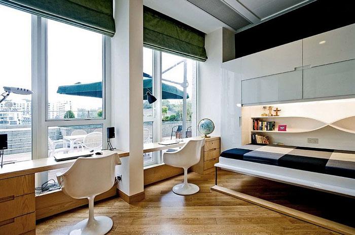 Интерьер домашнего офиса от Ample DESIGN