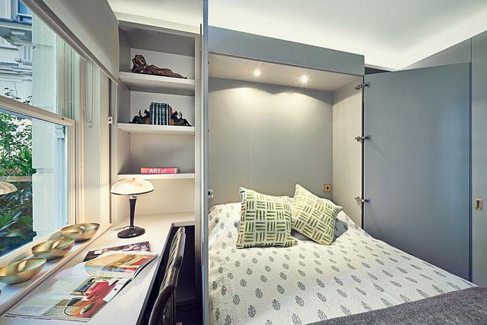 Домашний офис-гостевая спальня от Sarah Fortescue Designs