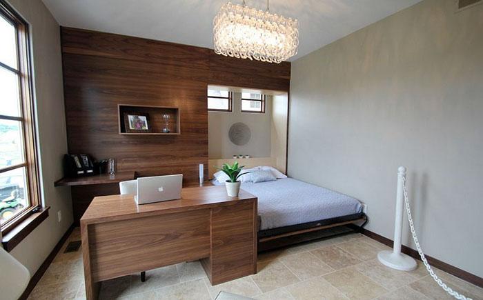 Домашний офис-гостевая спальня от Pure Style by Jerry Bussanmas