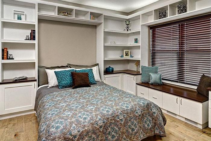 Интерьер офиса-спальни от Closets For Life