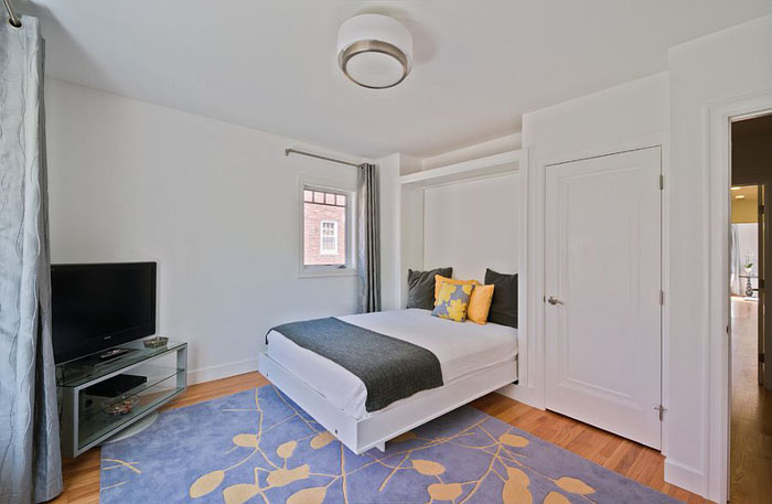 Интерьер спальни-офиса от Studio Z Architecture