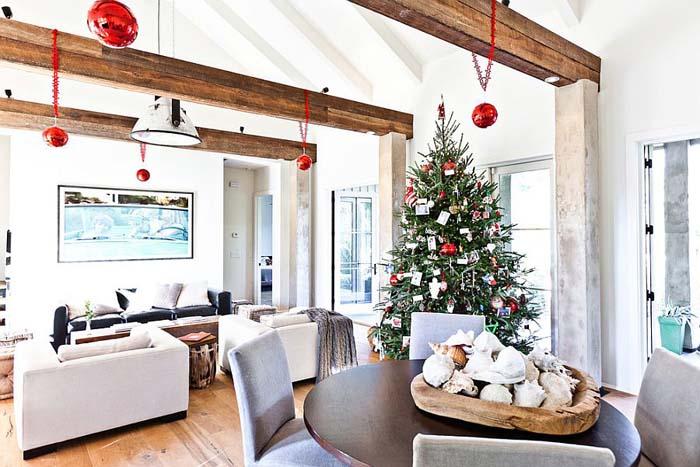 Интерьер гостиной от Cortney Bishop Design
