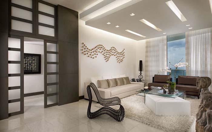 Интерьер гостиной от Guimar Urbina – KIS Interior Design