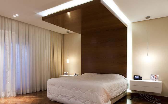Интерьер спальни от CH Arquitetura