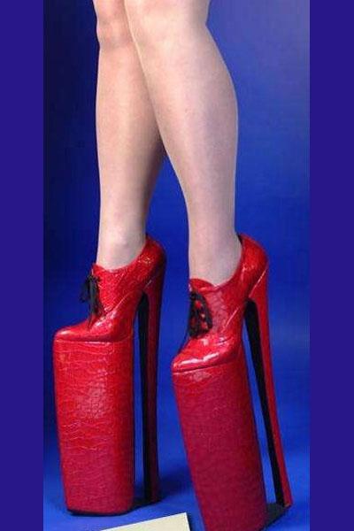 Ladybwear Lace Up Platform Shoes
