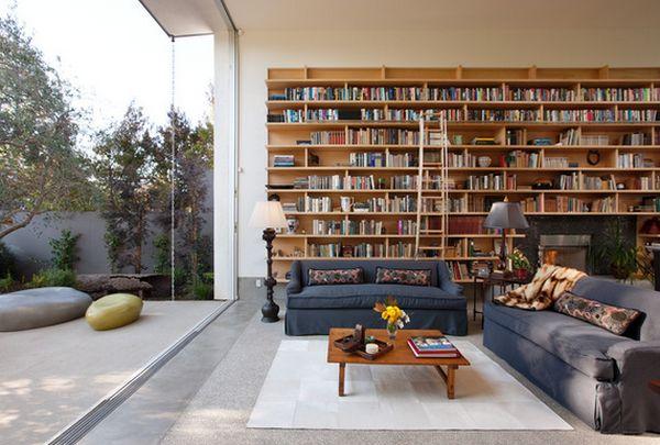 Библиотека с огромным панорамным окном