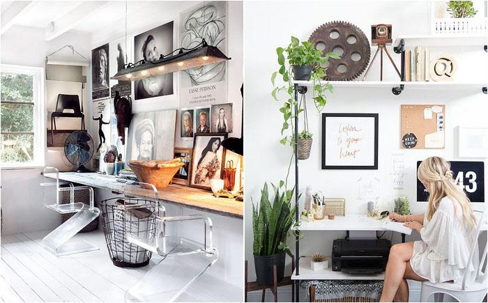 30 домашних офисов в скандинавском стиле от лучших дизайнеров