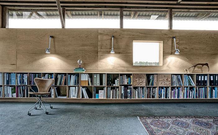 Интерьер домашнего офиса от LBB3-Interior