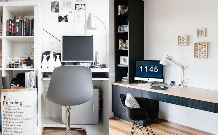 Мебель для домашнего офиса в скандинавском стиле