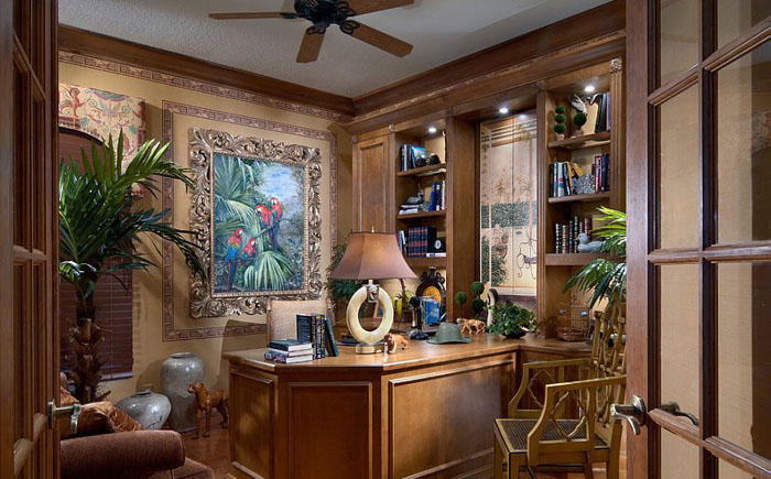 Роскошный домашний офис от Petron Design