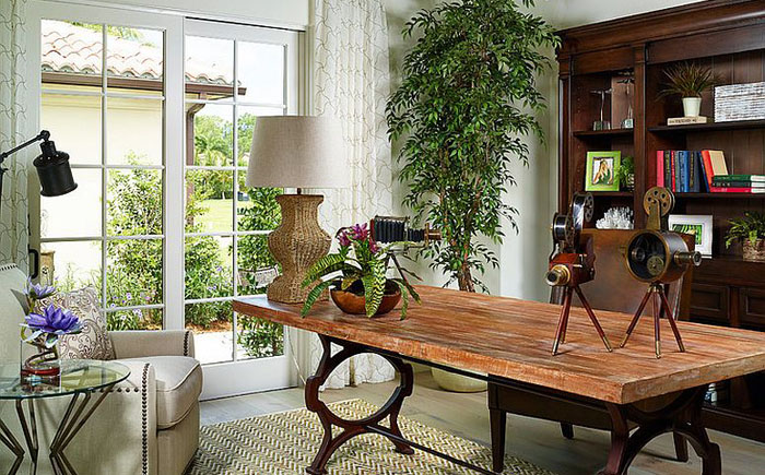 Элегантный домашний офис от London Bay Homes