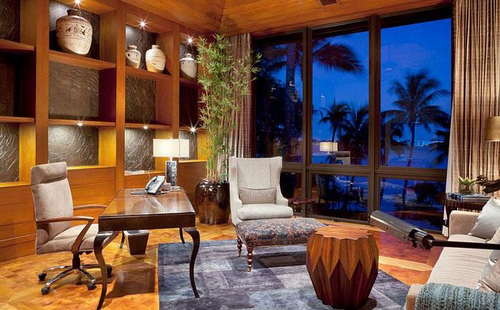 Интерьер домашнего офиса от Affiniti Architects