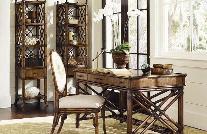 Интерьер домашнего офиса от Baer's Furniture