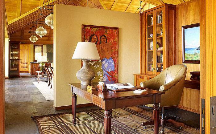 Домашний офис в торопическом доме от Dara Rosenfeld