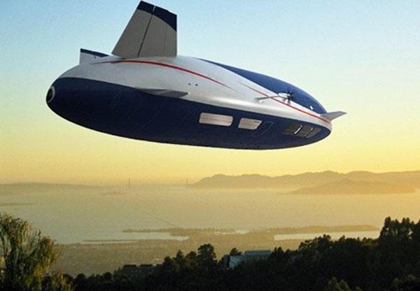Aeroscraft: летающий отель будущего