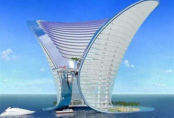 Островной отель Apeiron, Дубаи