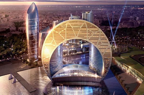 10 самых потрясающих концептов отелей будущего